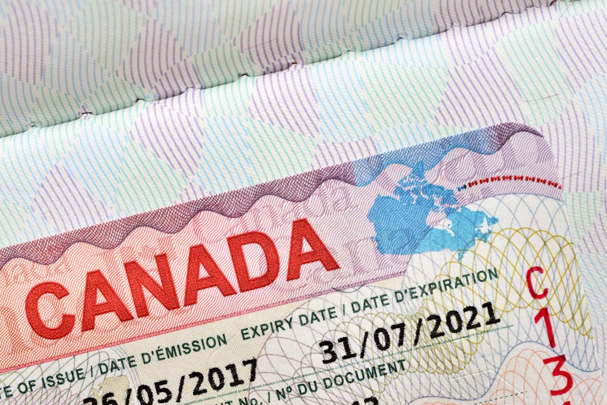 Come richiedere un visto di ingresso in Canada